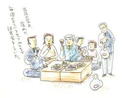 出張の翌日店内で毎週のようにスタッフみんなで試食会をしていた